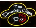 Drunken Clam Neon Sign
