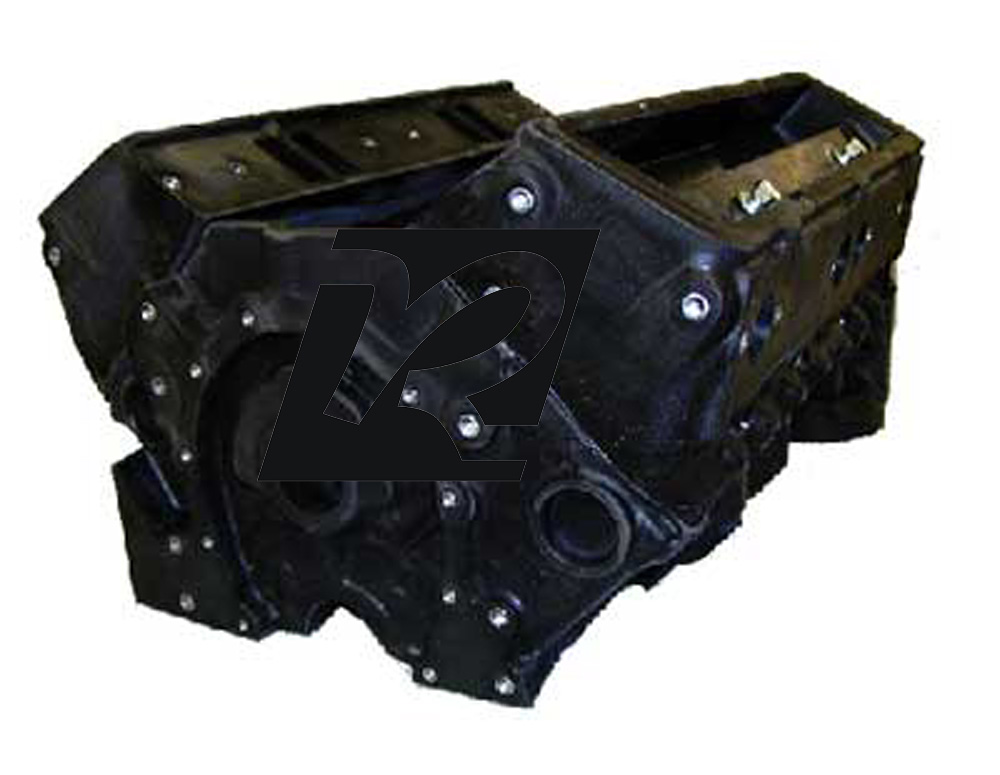 P-Ayr SBC Short Block w/ conventional Heads - FREE SHIPPING
