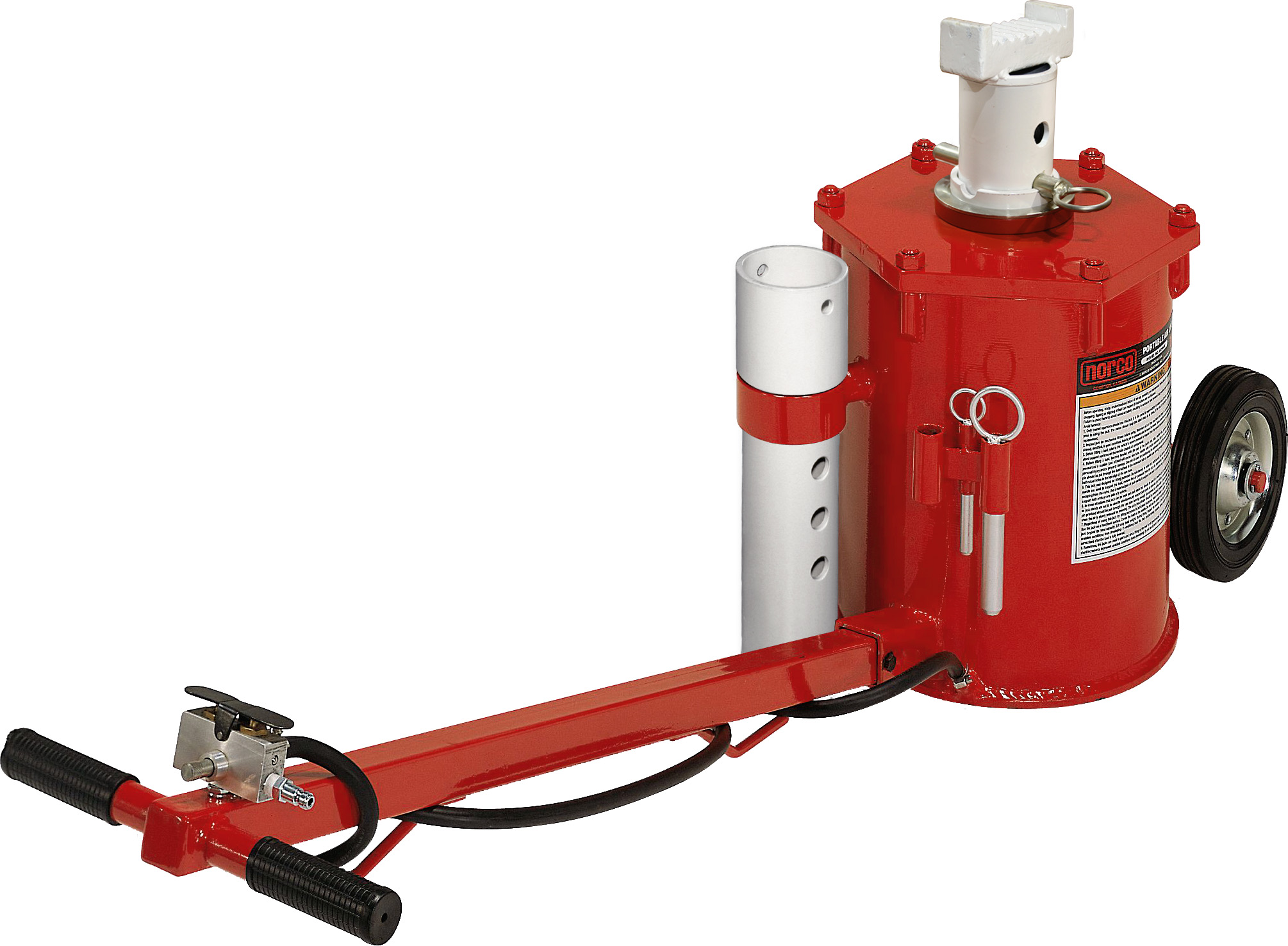 Norco 10 Ton Portable Air Lift Jack Free Shipping