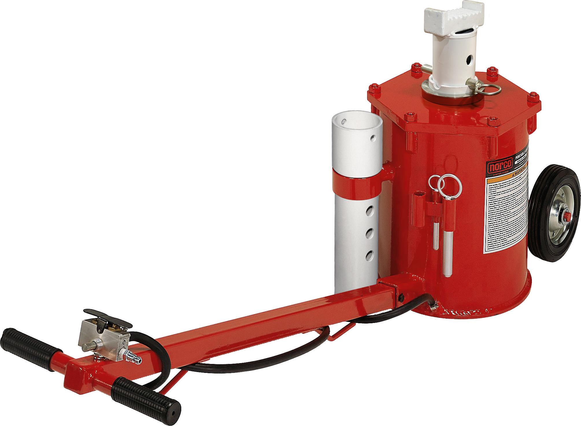 Norco 10 Ton Portable Air Lift Jack Free Shipping