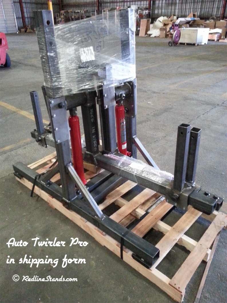 Auto twirler pro auto restoration rotisserie free shipping for Pro equipement restauration