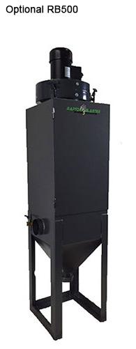 Vibrator for blast cabinet