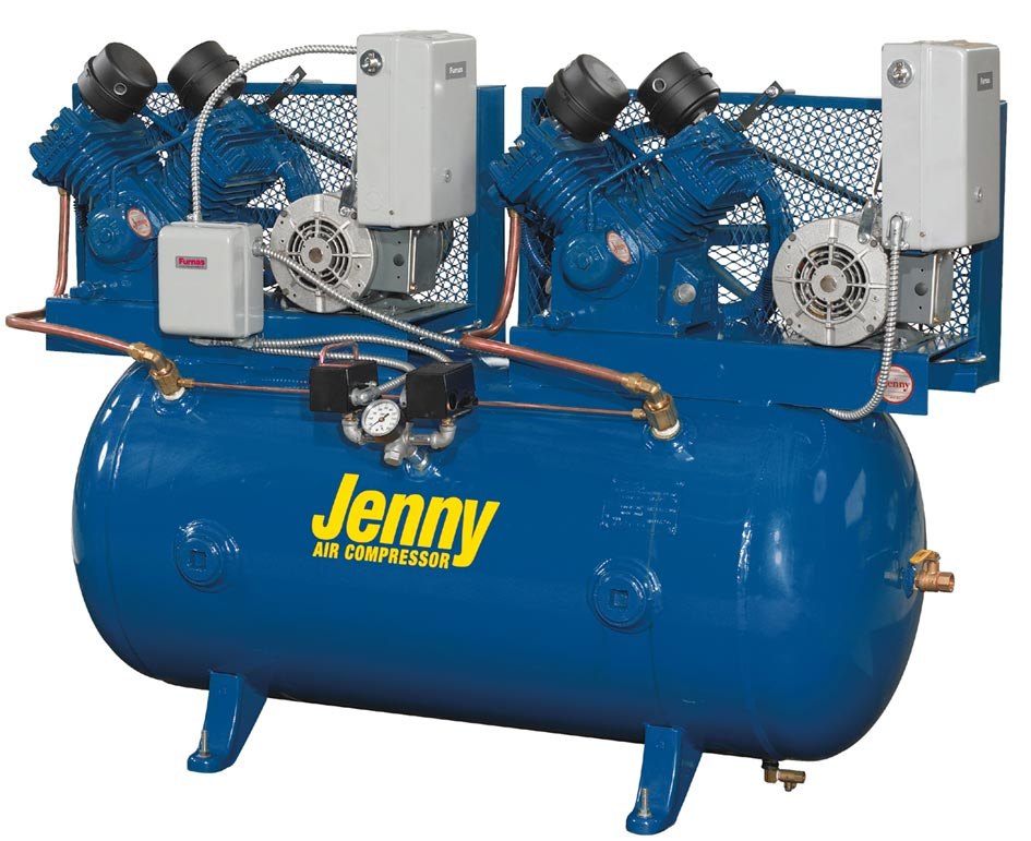 Air Compressor Shelter : Jenny gallon tank psi electric compressor ships free