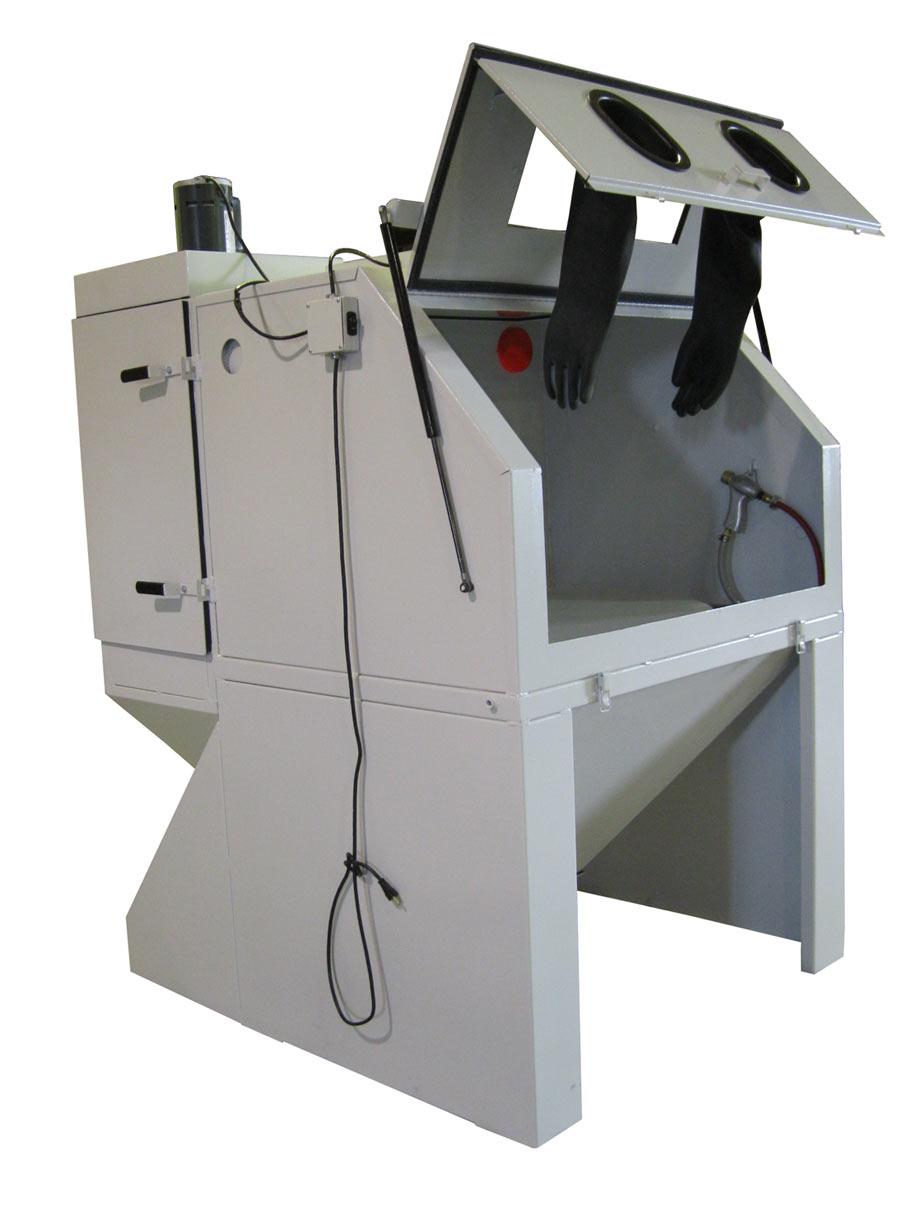 Cyclone HD4836 Abrasive Sand Blasting Cabinet FREE SHIPPING