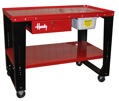 New Handy Industries Deluxe Steel Tear Down Work Bench