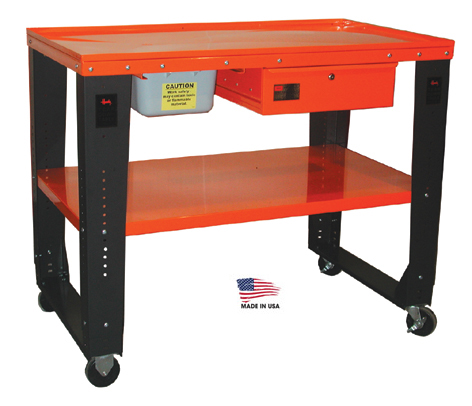 Handy Industries Deluxe Tear Down Table Free Shipping