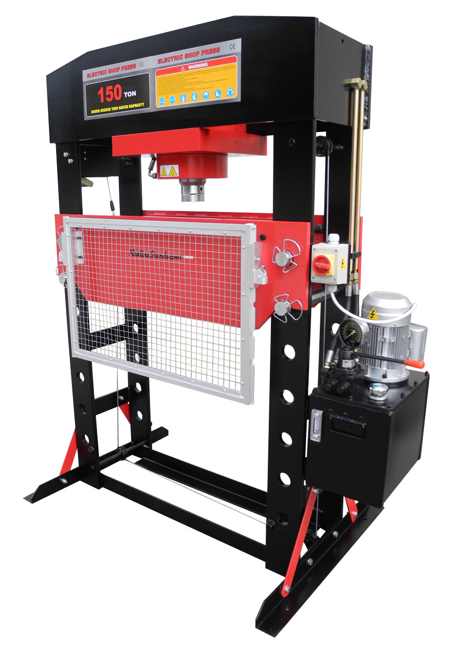 Redline 150 Ton Electric Hydraulic Shop Press