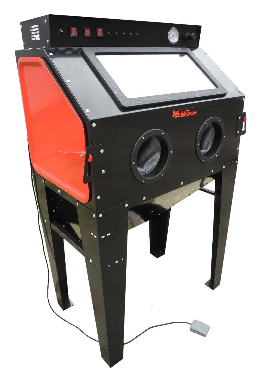 redline engineering re40 abrasive sand blasting cabinet free shipping. Black Bedroom Furniture Sets. Home Design Ideas