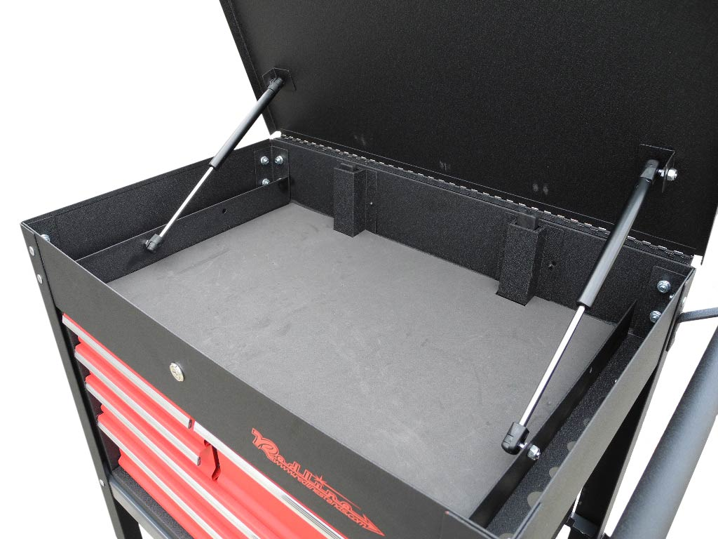 redline re tc327 roll cart tool box clearance free shipping. Black Bedroom Furniture Sets. Home Design Ideas