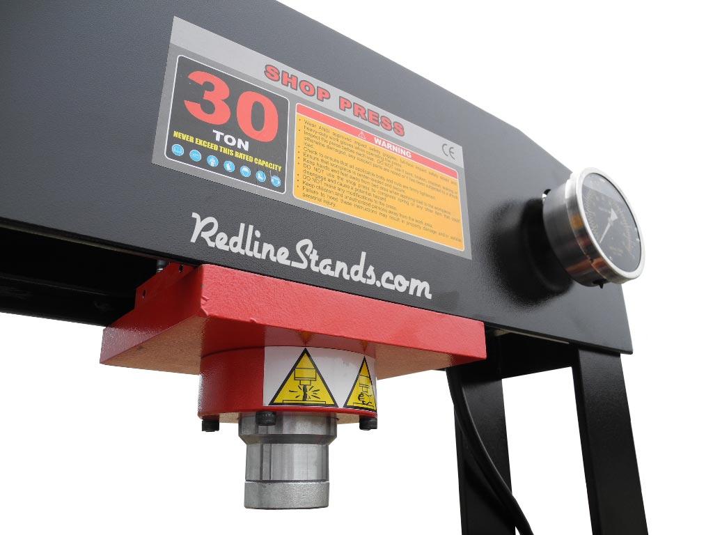 new redline re30t air pump shop press 30 ton automotive