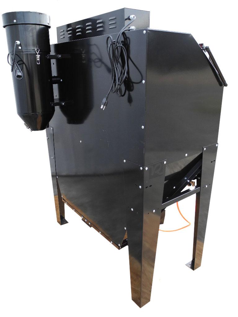 redline re48cs clam shell abrasive sand blasting cabinet free shipping. Black Bedroom Furniture Sets. Home Design Ideas