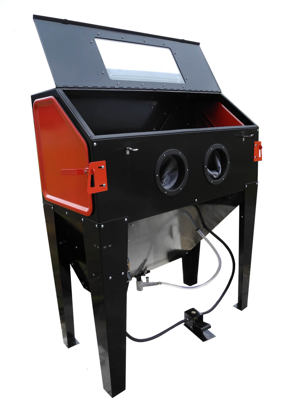 Sand Blaster Cabinet New Redline Re48 Elite Series Abrasive Sand Blaster Cabinet Glass