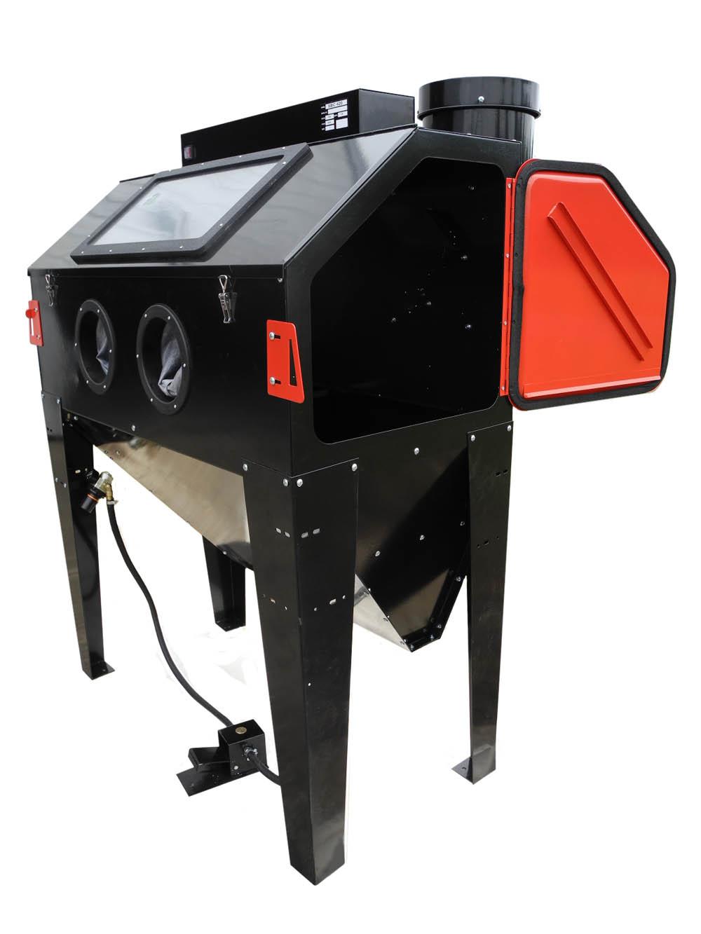 Abrasive Blasting Cabinet New Redline Re48 Elite Series Abrasive Sand Blaster Cabinet Glass