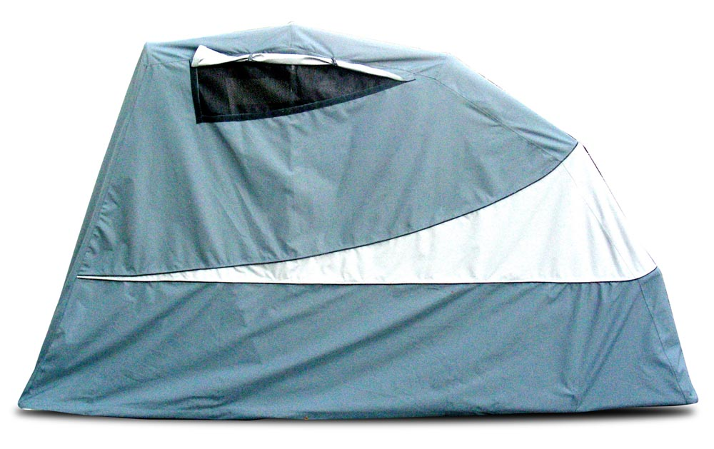 Enclosed Motorcycle Shelter : Cycleshelter motorcycle cover shelter outdoor autos post