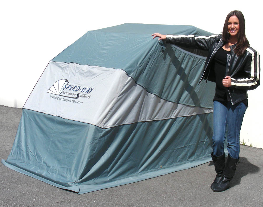 Speedway Motorcycle Shelter