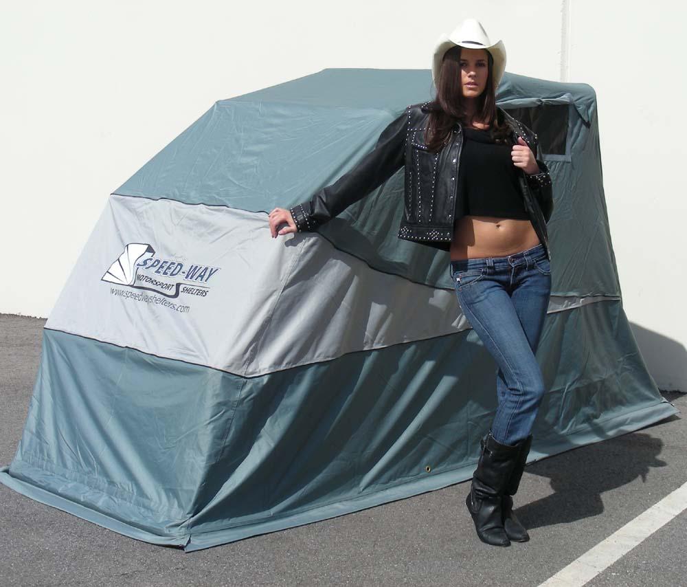 Speedway Motorcycle Storage Shelter Free Shipping