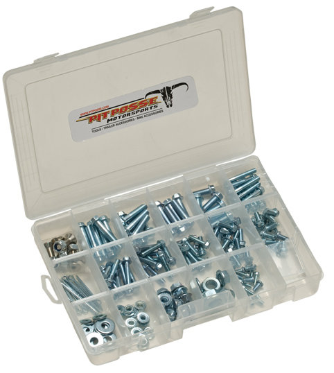 Pit Posse 185pc Universal Metric Bolt Kit