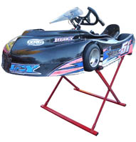 Racing Go Kart Stands