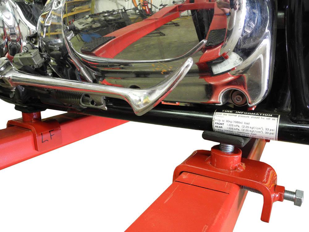 Redline Re 2pa 2 Post Lift Motorcycle Atv Adapters Free