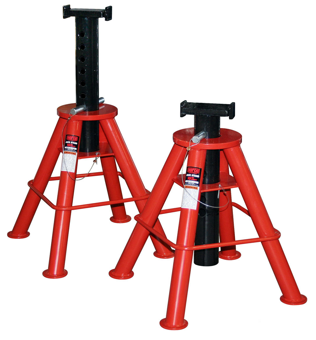 Jack Stand Designs : Norco ton jack stand free shipping