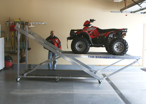 Motorcycle lift table plans