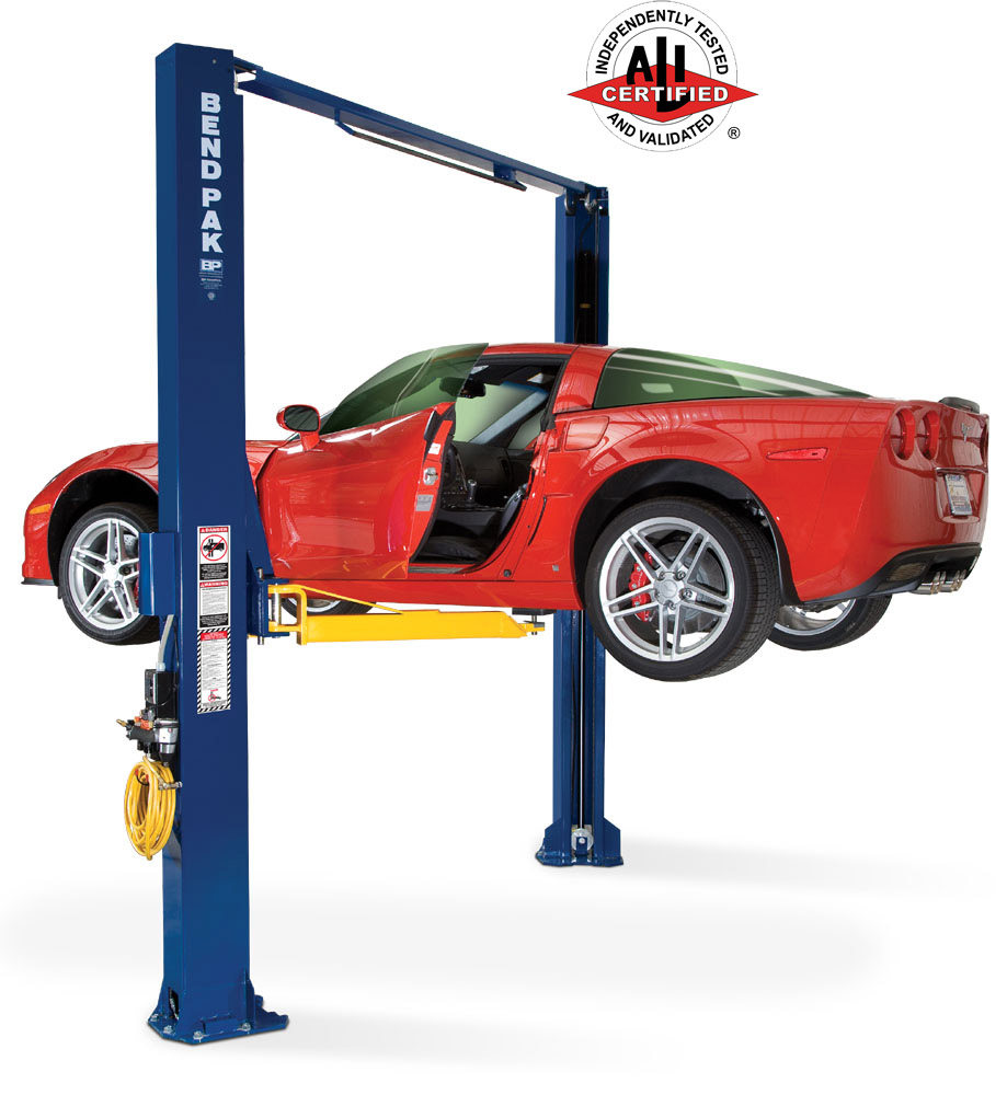 BendPak XPR-10A 10K Turn Column 2 Post Auto Lift - FREE SHIPPING