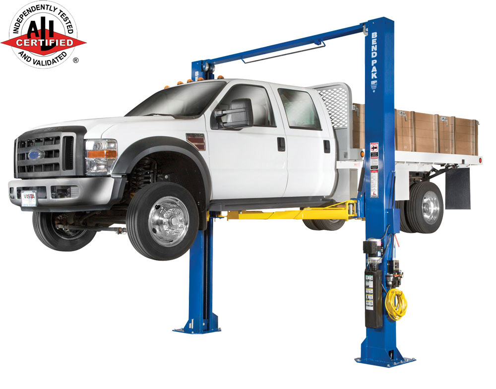 BendPak XPR-12C Two Post 12K Auto Lift - FREE SHIPPING