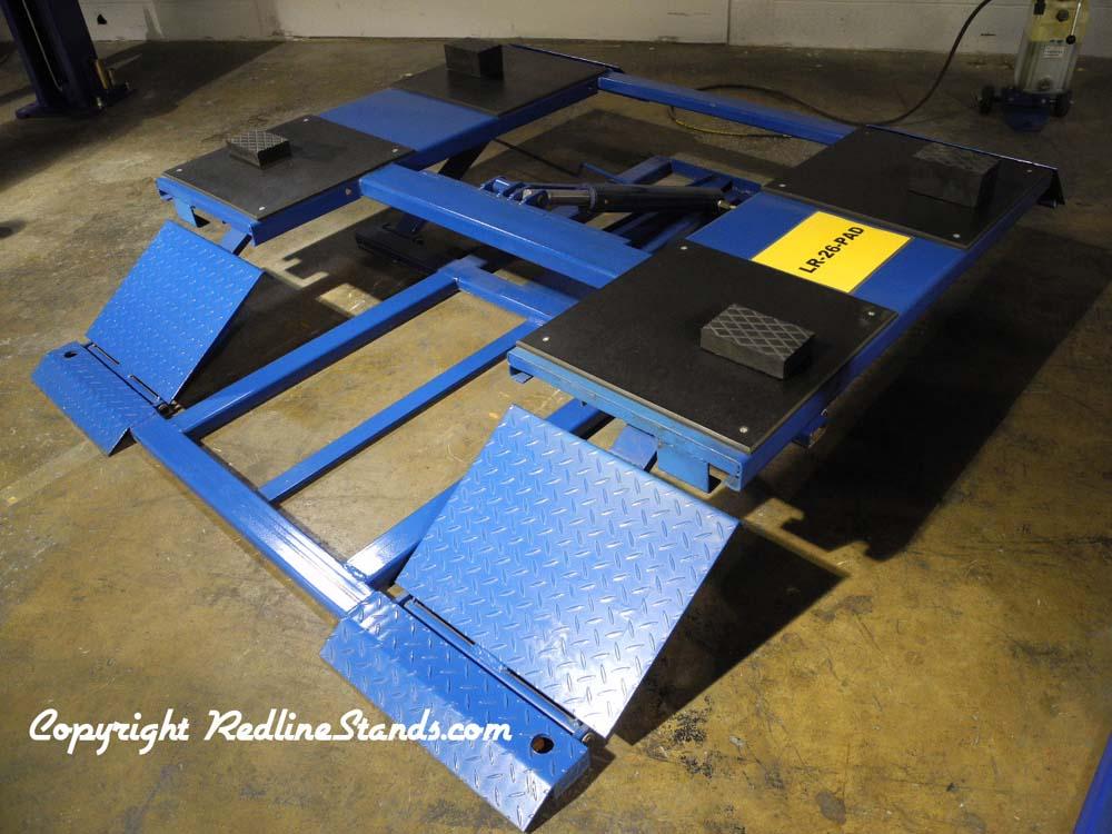 Kernel 6 000 Lb Automotive Low Rise Scissor Pad Lift