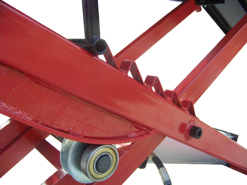New Redline Orange Mc1k 1000 Lb Motorcycle Lift Table With Side Extensions Ebay