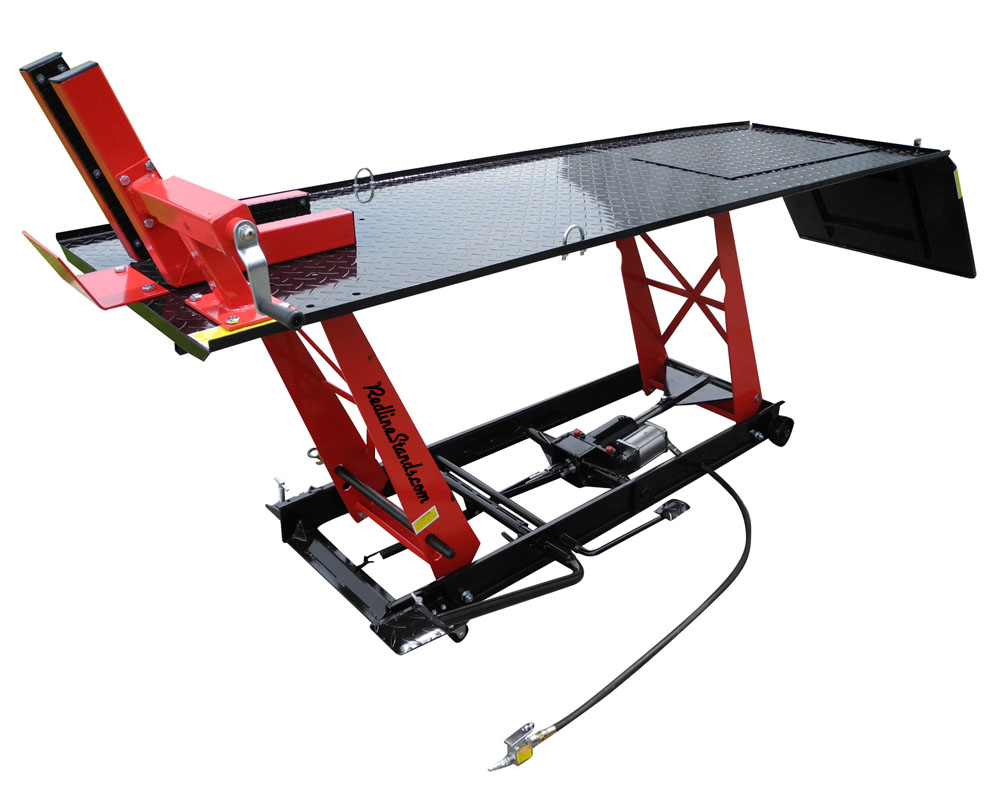 Redline LD1K Light Duty Motorcycle Lift Table - FREE SHIPPING!