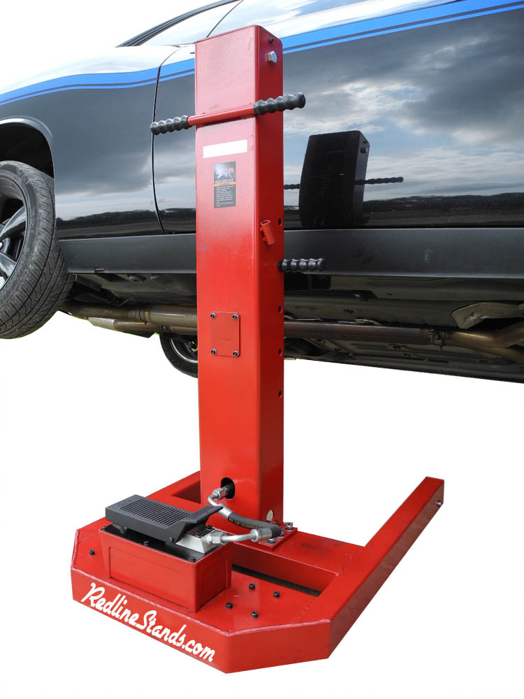 New Ml3000 Redline 3 000 Lb 3k Single Post Portable Mini Auto Car Lift Hoist Ebay