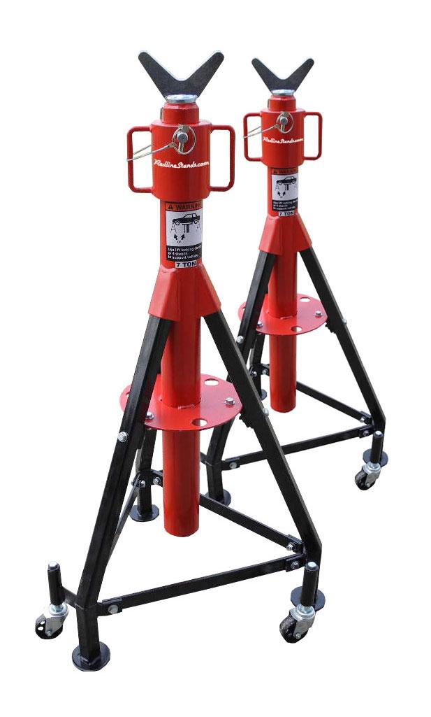Tripod Crane Hoist : Redline re rt us p ton tripod under hoist stand free