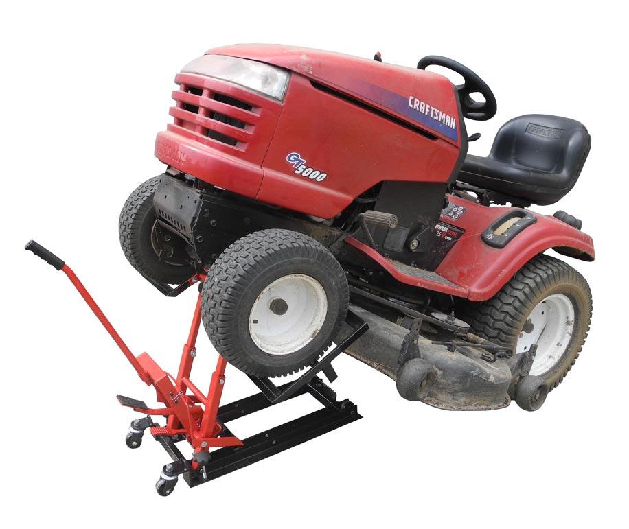 Lawn Mower Foot : New redline re lml foot operated hydraulic lawn rider