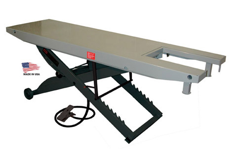 Handy Sam 1000 Lift Table with Vise - AMERICAN MADE