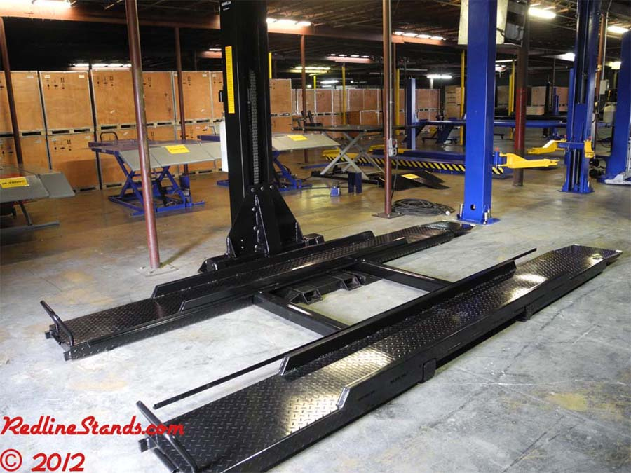 One Post Car Lift : Kernel manufacturing single post auto lift