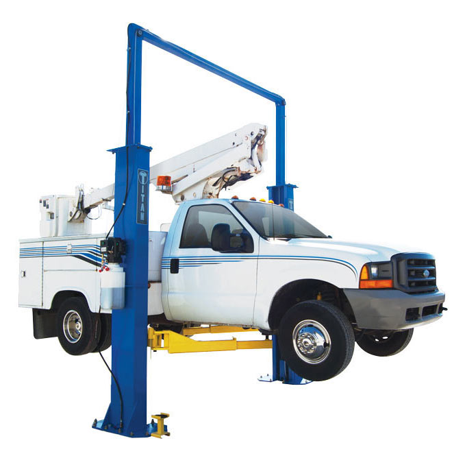 Titan 15K Lb Titan Clearfloor Automotive 2 Post Lift