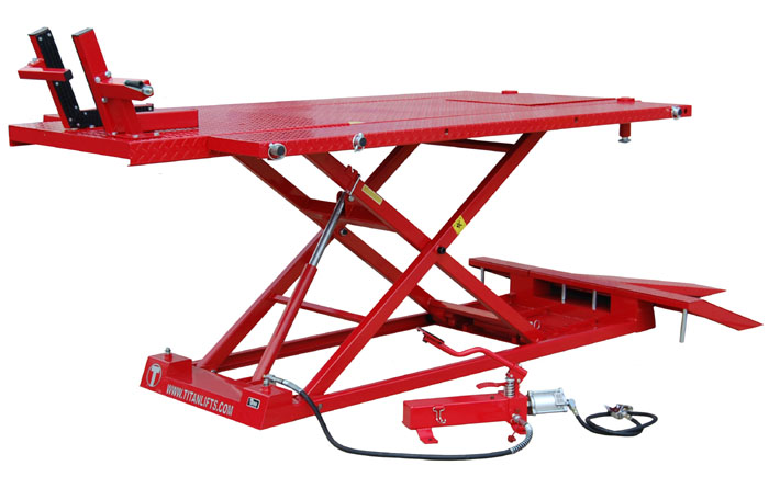 Titan 1500XLT Motorcycle ATV Lift Table - SHIPS FREE
