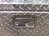 Pit Products Diamond Plate Trailer Nose Cabinet