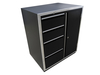 Redline Elite Series 4 Drawer 1 Door Base Cabinet