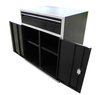 "Redline 64"" Base and Overhead Cabinet Combo"