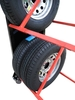 Redline Rolling Tire & Wheel Display Rack