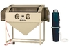 Cyclone #6035 Abrasive Sand Blasting Cabinet