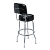 Ace Mustang Fifty Years Bar Stool w/ Backrest