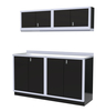 Moduline 6' Pro-II Series Base Wall Cabinet Combo 1