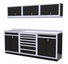 Moduline 8' Pro-II Series Base Wall Cabinet Combo 6