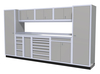 Moduline 12' Pro-II Series Base Wall Cabinet Combo 19