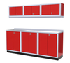 Moduline 8' Pro-II Series Base Wall Cabinet Combo 4