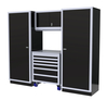 Moduline 8' Pro-II Series Base Wall Cabinet Combo 8