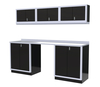 Moduline 8' Pro-II Series Base Wall Cabinet Combo 2