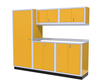 Moduline 8' Pro-II Series Base Wall Cabinet Combo 3